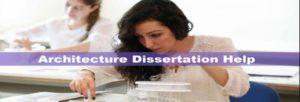 Architecture Dissertation assignment help